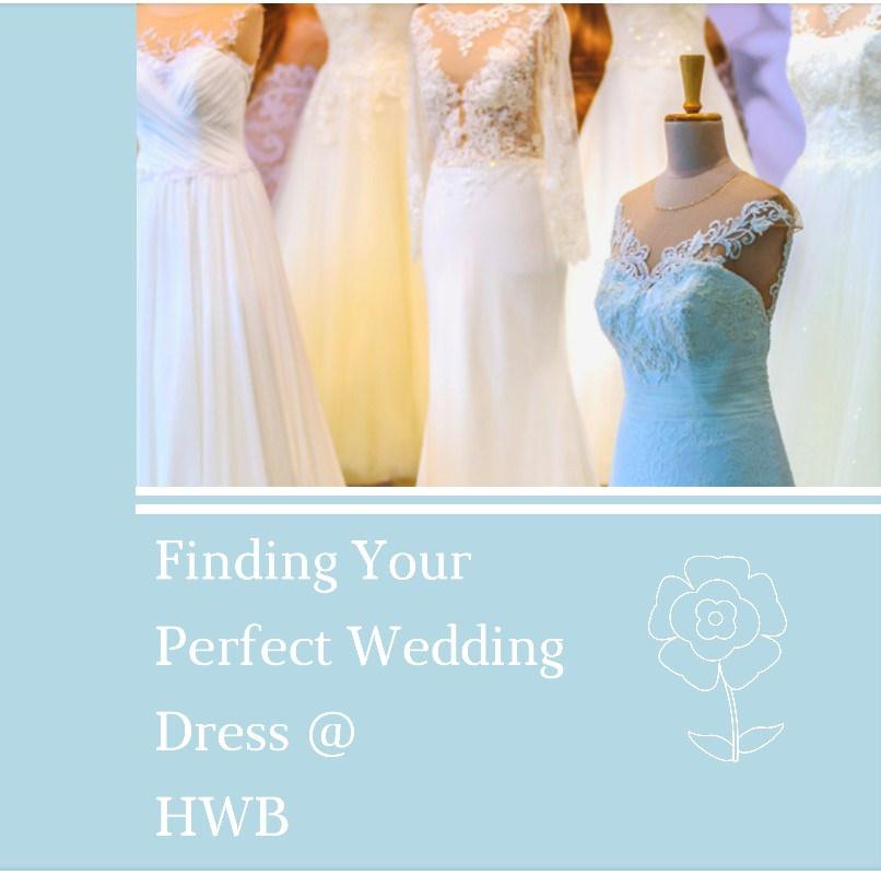 Finding the perfect Wedding Dress …….